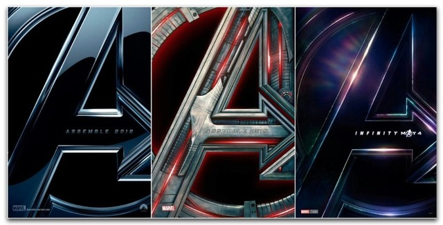 Fx162 Set 3 Avengers Infinity War 1 2 Emble Age Of Ultron 2018 Marvel Movie Poster Art Silk Canvas Room Wall Printing Decor