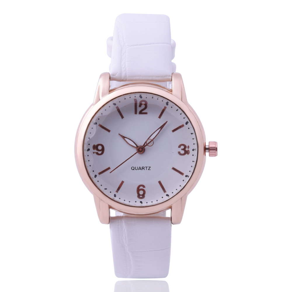 2018 Women Fashion Luxury Watch Ladies Leather Band Analog Alloy Quartz Wrist Watch xr2439 women fashion exotic style analog quartz leather wrist watch