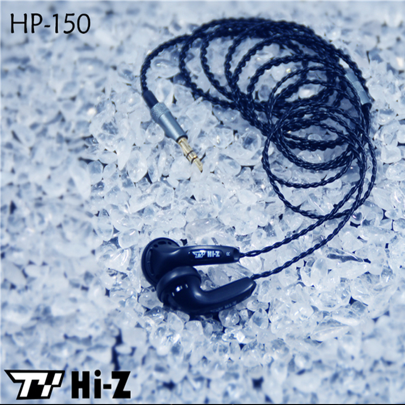 TY Hi-Z 150ohm 32ohm Dynamic Earphone HP32 HP150 HiFi Super Bass Flat Head Earbud Earphones Earpods for iPhone Xiaomi Samsung