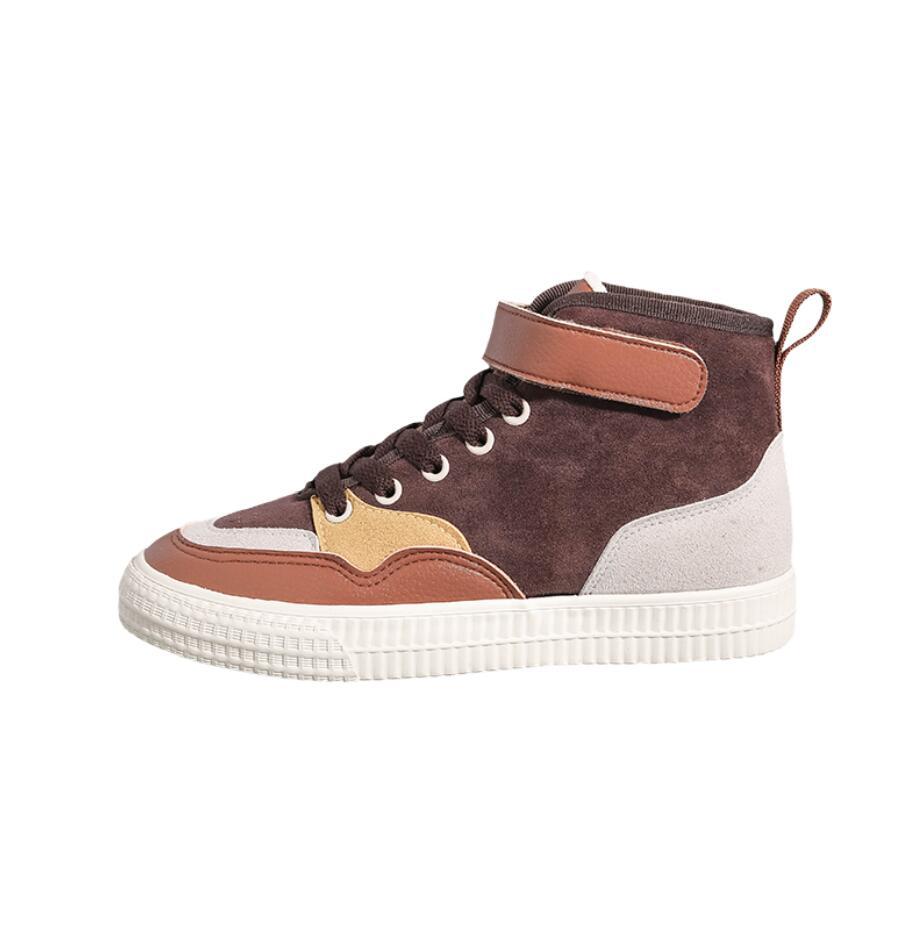 XCZJ 2019 autumn and winter new Martin boots female students Korean version of cotton shoes plus velvet women's shoes boots 24