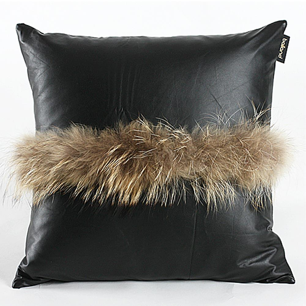 Black Decorative Pillow Cases : New Enjoyable 18*18