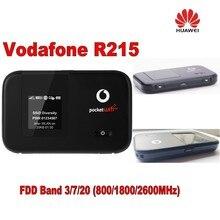 Много 2 шт. разблокировать 150 Мбит/с Vodafone R215 карман LTE 4 г модем Wi-Fi маршрутизатор с ЖК-дисплей Дисплей и Поддержка LTE FDD 800/1800/2600 мГц