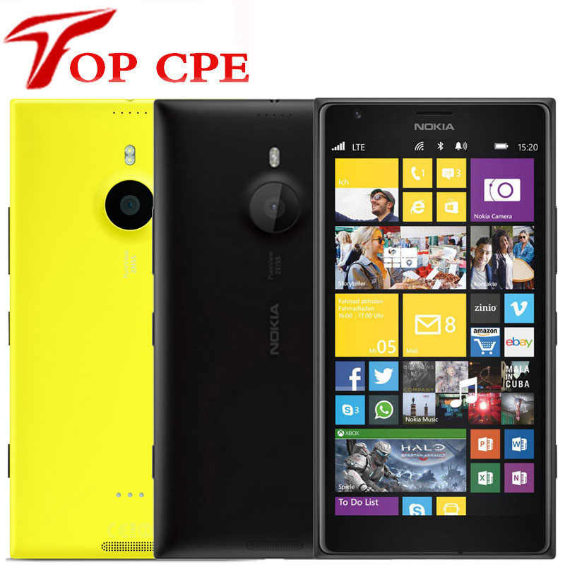Renoviert Original Nokia Lumia 1520 Windows Phone handy Quad Core 2GB RAM 32GB ROM 20MP NFC GPS WIFI entsperrt handy
