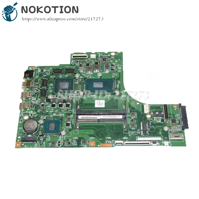 NOKOTION 448.06R01.001M Main Board For Lenovo ideapad 700-15ISK Laptop Motherboard 15.6 inch i5-6300HQ CPU GTX950M Video Card