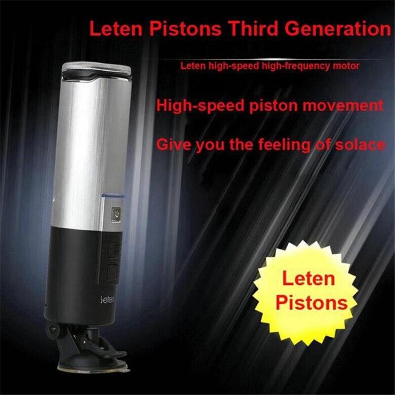 Taza de avión Piston manos libres 10 funciones retráctil USB recargable macho completo automático Piston masturbador juguetes sexuales para hombres - 2