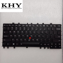 Original us-backlight-tastatur für thinkpad s1-120 yoga s1 s120 s240 yoga12 series us tastatur fru: 04y2620 04y2916 mp-13g73us-698