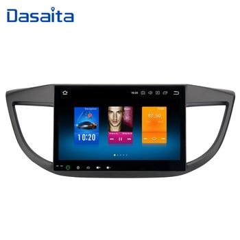 "Dasaita 10.2"" 2 Din Android 9.0 Car Radio GPS for Honda CRV Multimedia 2012 2013 2014 Auto Stereo MP3 1024*600 Built-in Micropho"