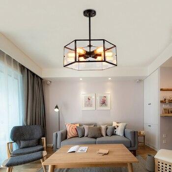 LED éclairage nordique restaurant lampes suspendues luminaires industriels rétro loft suspendu éclairage Bar café lampes suspendues