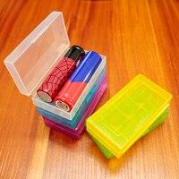 1 unids/lote 18650 caja de almacenamiento 2s batería portátil alta calidad 16430 4 cápsulas