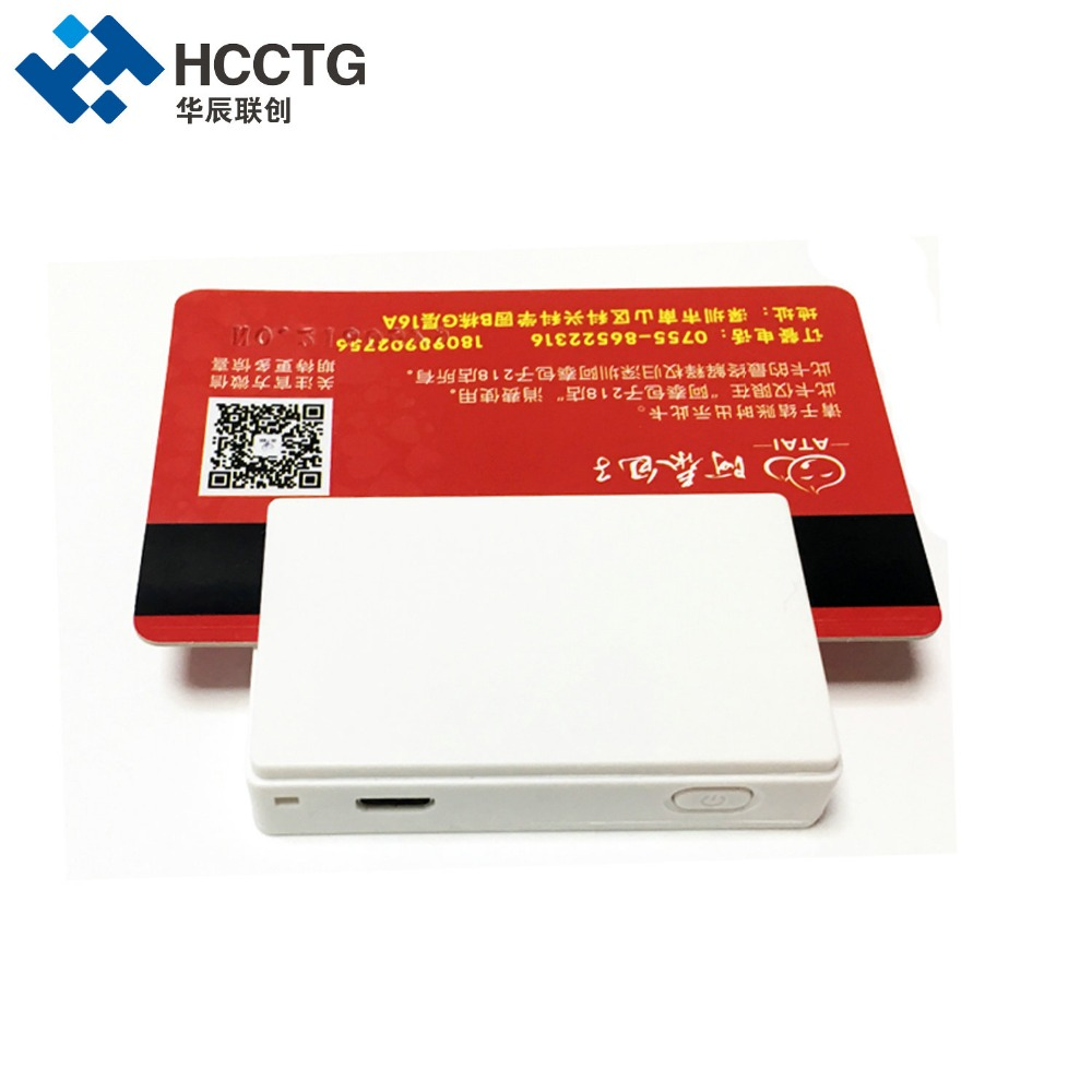 EMV Magnetic +Chip Card Reader Wireless Bluetooth Mobile Mate Smart Credit Card Reader Swipe Machine MPR100