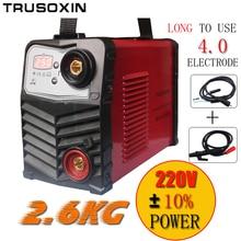 Mini Kunststoff panel 220 V/-240 V 2,6 KG IGBT Inverter dc-schweißgerät/ausrüstung/schweißer Micro ARC250 stick schweißer für DIY