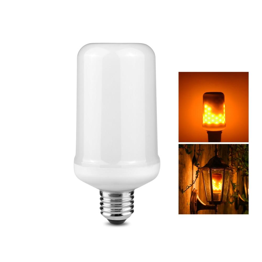 85v 265v 3528smd e27 led corn bulb dynamic flame effect. Black Bedroom Furniture Sets. Home Design Ideas