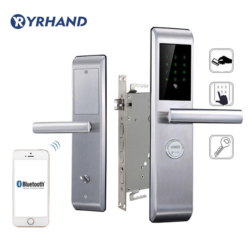 Smartphone Bluetooth Door Lock APP Combination Code Touch Screen Keypad Password Smart Electronic door Lock