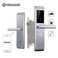 Смартфон дверной замок Bluetooth приложение комбинация, код сенсорная клавиатура пароль умный электронный дверной замок