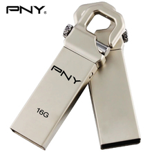 PNY USB Flash Drive 32GB 16GB 8G Steel Pen drive Waterpoof U Disk reminiscence stick 32gb memoria enterprise reward with brand usb pendrive