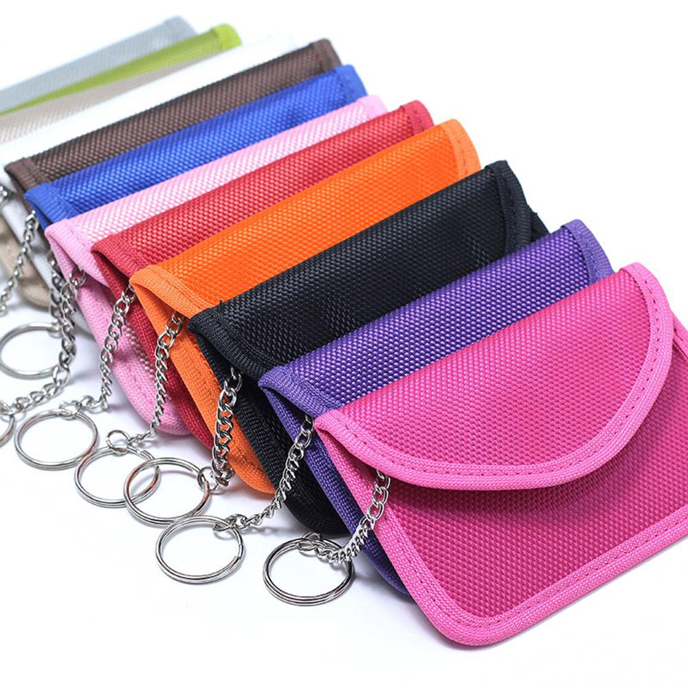 12 Colors Car Key Bag Rfid Electromagnetic Radiation