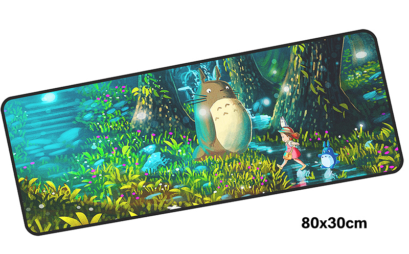 Totoro mousepad gamer 800x300X3MM gaming mouse pad large cheapest notebook pc accessories laptop padmouse ergonomic mat