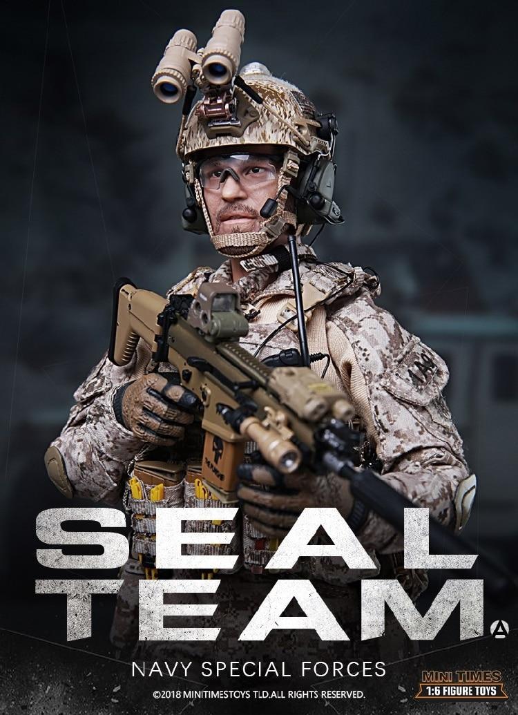 Mini Times speelgoed MT M012 US Navy Special Forces Seal Team 1/6 Figuur-in Actie- & Speelgoedfiguren van Speelgoed & Hobbies op  Groep 1