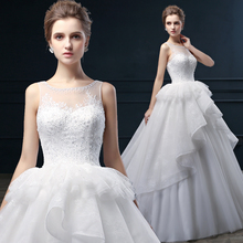 Li Yas wedding dress new spring 2015 women half transparent lace Qi tail sleeveless shoulder bag