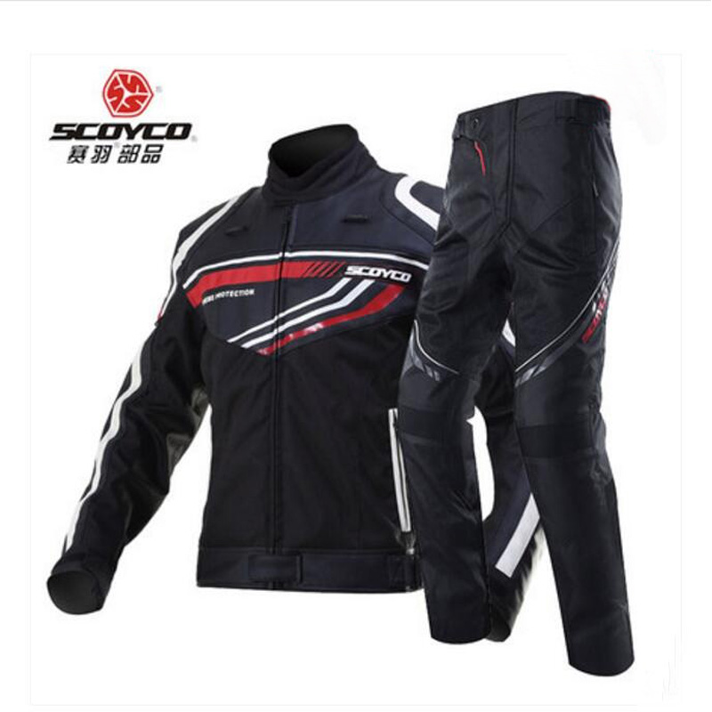 2017 sunner new mesh riding tribe cross country motorcycle jacket jk 37 motorbike jackets made of oxford cloth size m xxxxl SCOYCO Cross-country motorcycle ride jacket pants motor racing suits wrestling motorbike clothes trousers jackets JK37 P027-2