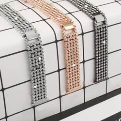 Ремешки для наручных часов замена умные наручные часы Аксессуар Ремешок сталь Diamond группа Fitbit Versa