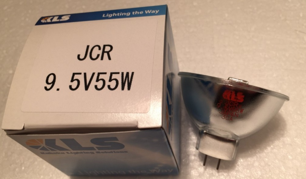 цены  KLS JCR 9.5V 55W GZ6.35 JAPAN L7D 1500HRS FOR HUNTER Spectrophotometer HALOGEN LAMPS DHL FREE SHIPPING