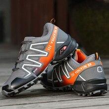 online store 1bc46 96040 Los hombres al aire libre Zapatos para caminar impermeable deportes Zapatos  hombres transpirable Zapatos sneakers camping