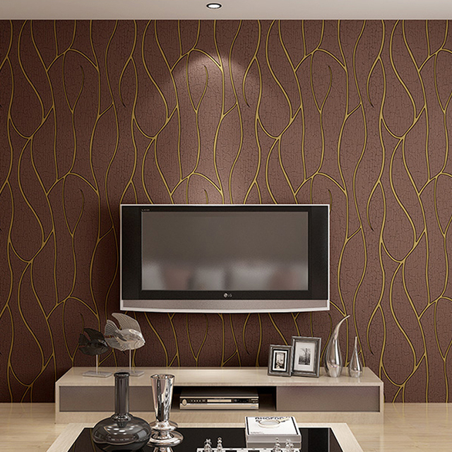 Aliexpresscom Buy Top Quality 3D Wallpaper for Walls Suede