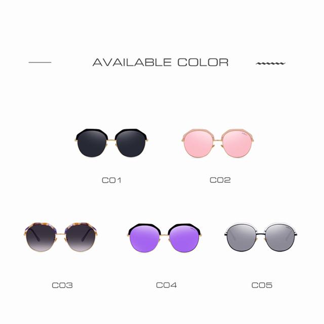 AOFLY New Fashion Sunglasses Women Brand Design Revo Lens Sun Glasses Summer Style Half Metal Frame Vintage Shades UV400 AF79142