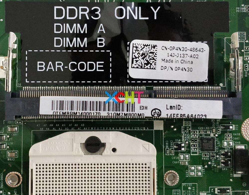 DELL L702x laptop motherboard P4N30 0P4N30 DAGM7MB1AE0 HM67