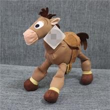 """1 styck 25cm 9.8 """"Toy Story Plush WOODY Sheriff Bullseye Hästen Barn Present"""