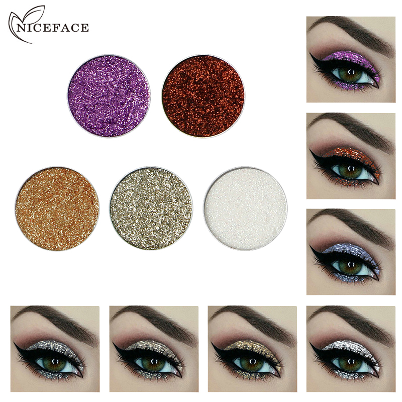 Beauty & Health Body Niceface Hottest Glitter & Shimmer Makeup Women Maquiagem Body Face Glitter Powder Eye Shadow Silver Color Pigment Cosmetics High Safety