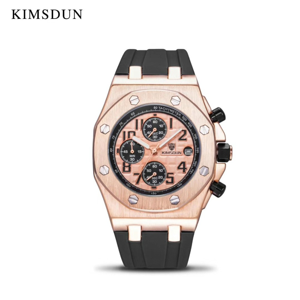 KIMSDUN Men Watches Mechanical-Watch Self-Wind Top-Brand Fashion Automatic Luxury Relogio