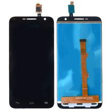 Schwarz neue lcd-modul für alcatel one touch idol 2 Mini 6016 LCD Display Touchscreen Digitizer Assembly VAJ16 T18 0,45