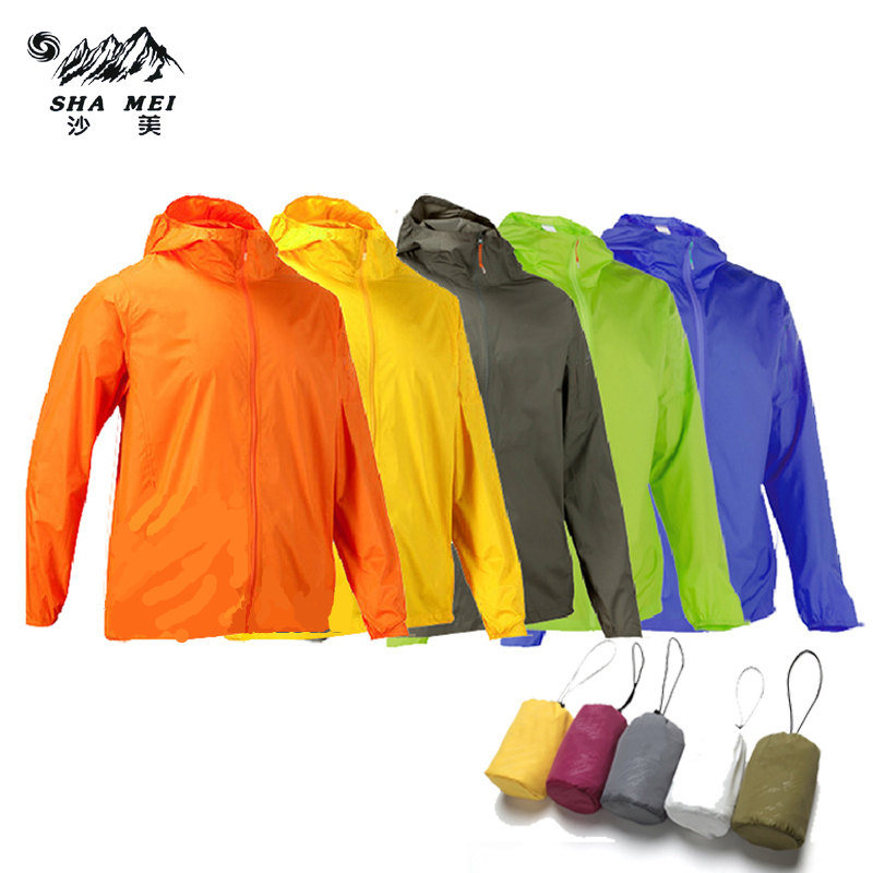 Men Women 2017 camping Clothing  Quick Dry Hiking Jacket Waterproof Sun & UV Protection Coat Outdoor Sport Skin Jackets sports outdoor two in one twinset jackets female sun protection clothing anti uv sun protection jacket