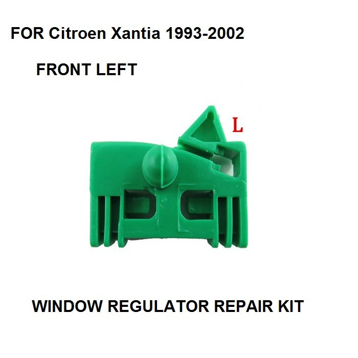 X1 For Citroen Xantia 1993-2002 Window Regulator Repair Clip Kit 4/5 Door Front Left Side
