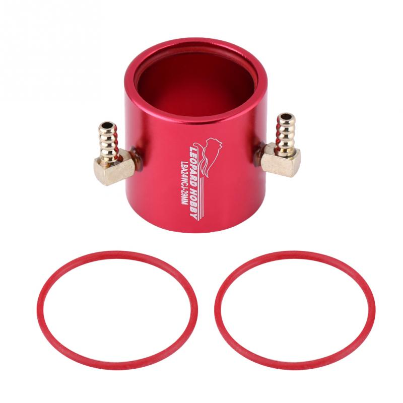 RC Motor Water Cooling Jacket Metal 24mm Diameter RC Parts New System Accessory Suitable For 2435 2440 2445 Motors High Quality