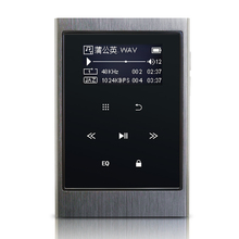 Aigo Z1 MP3 players 8G enthusiast lossless HIFI music player with touch screen metal long standby