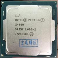 Intel Pentium PC Computer Desktop Processor G4600 CPU LGA1151 land FC LGA 14 nanometers Dual Core CPU