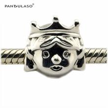 2016 Otoño Princesa Preciosa Marvelous Perlas Regalo de los Granos de Plata Esterlina Adapta Pandora Pulseras DIY Whloesale Regalo Para la Mujer