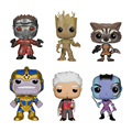 2016 new Genuine funko pop Guardians of the Galaxy rocket groot thanos star lord model Action Figurine doll car Decoration