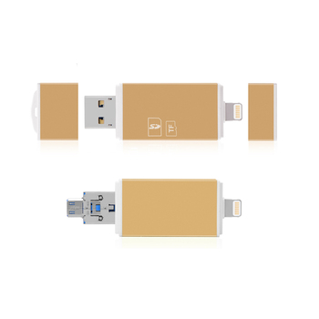 USB3.0 microUSB Lightning Card Reader microSD SD SDHC SDXC Card Reader For iPhone Android phone PC