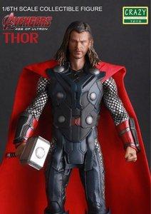 Сумасшедшие игрушки Мстители Marvel, ПВХ фигурка, Коллекционная модель игрушки 30 см