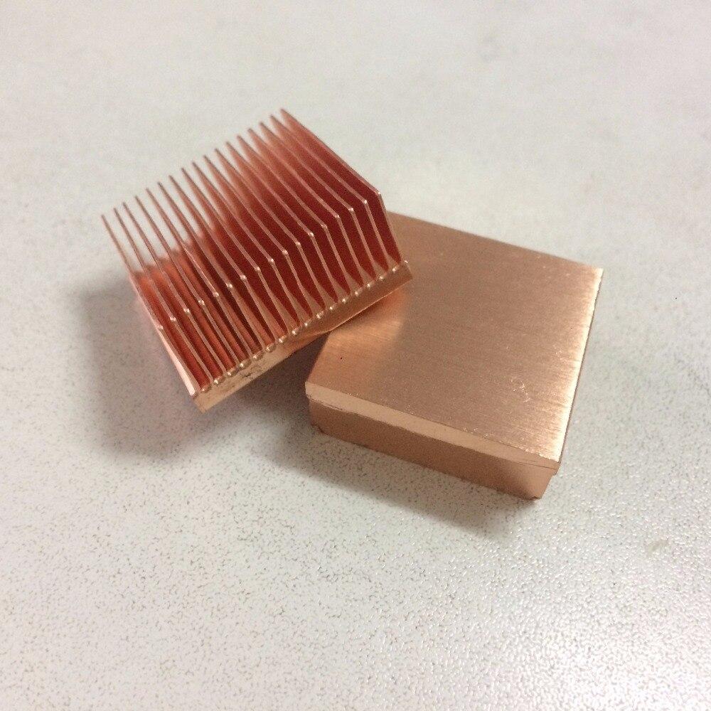 DIY 2pcs/lot 25x25x11mm copper heat sink power supply CPU Copper heatsink single board computers heat sink 771 pin cpu heatsink spot 0 6 kg pure copper heat sink heat sink diy preferred radiator