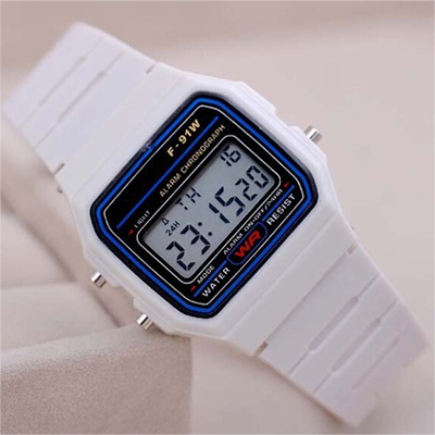 Digital Watch Alarm Chronograph Led Clock Electronic Silicone Men Gift Boy Cute Casual