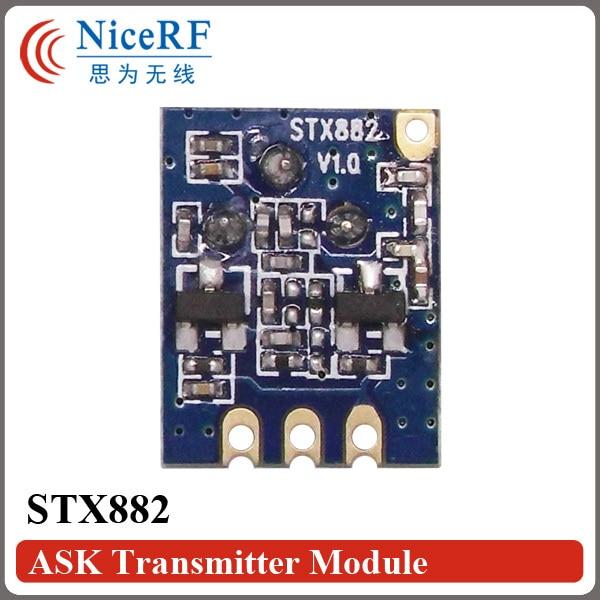 20pcs / lot ASK Transmitter STX882 433MHz δωρεάν - Εξοπλισμός επικοινωνίας - Φωτογραφία 2
