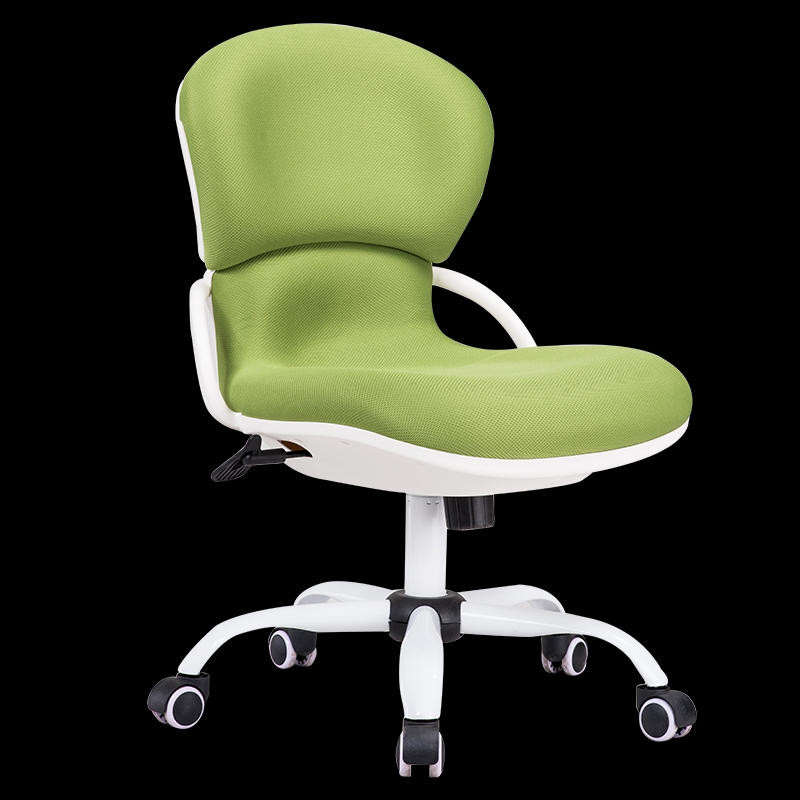 Computer Chair Household Without Armrest Ergonomic Office Chair Student Staff Mesh Chair Lifting Swivel Chair Seat the silver chair