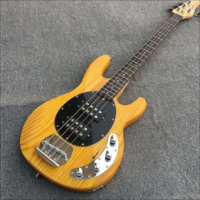 Galilee ASH basse guitare électrique, supporte la production de masse et la personnalisation, forme de tête de guitare personnalisée, image réelle!
