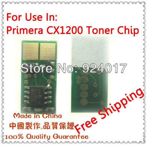 Toner Chip For Primera CX1200 Printer,Reset Chip For Primera CX1200 Digital Colour Label Press,For Primera CX 1200 Refill Chip europe new 2015 winter warm long duck down jacket coat women high quality hooded thicken plus size windproof parka ae714