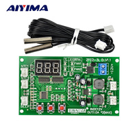 12V Dual Ways 3 Wire Fan Intelligent Digital Temperature Thermostat Governor Speed Controller